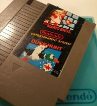 Super Mario Bros Duck Hunt + Hard NES NINTENDO CASE ~ TESTED SAME DAY S... - $15.95