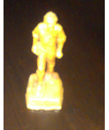 """VINTAGE 1950's YOUNG ABE LINCOLN FIGURINE L.A. FLECK SIGNED ARTIST """"WOOD... - $62.99"""