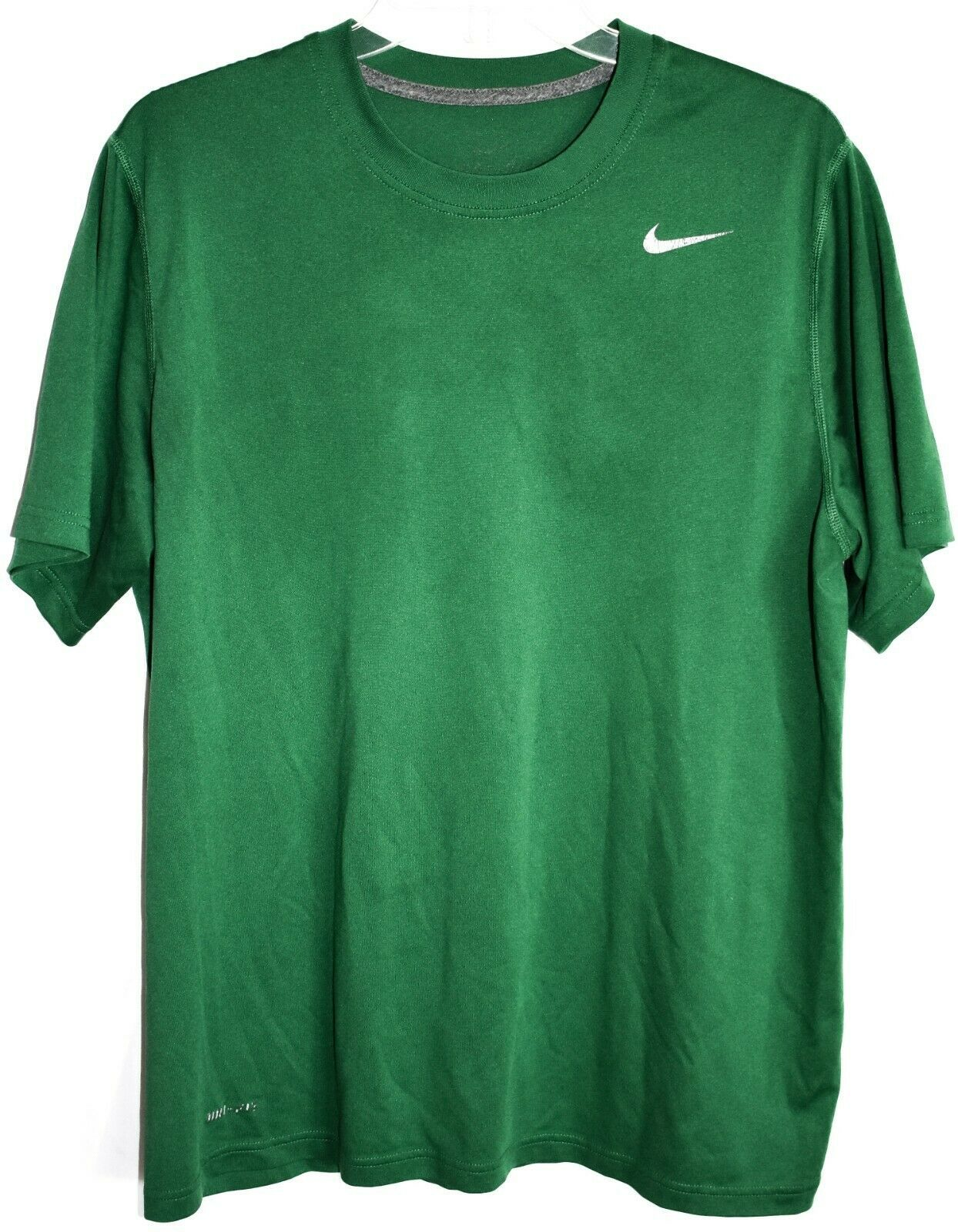 Nike Men's Legend Dri-Fit Training Green Short Sleeve T-Shirt Size L