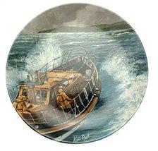 Crown Staffordshire Minerva Ware Off The Slipway Plate - $28.03