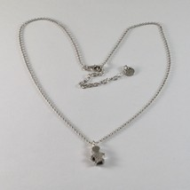 925 Sterling Silver Necklace Jack&co with child with Zircon Cubic White Jcn0616 image 1