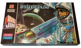 Big Jim Astronauta Vintage Italian Board Game Mattel - $33.00