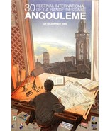 Francois Schuiten Poster Print Angouleme International Comic Book Festiv... - $22.95