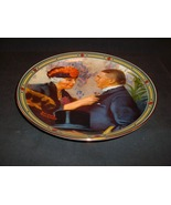 Norman Rockwell's Love's Reward Commemorative Plate - $15.00