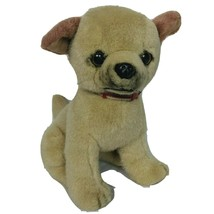 "Martha Stewart Fiesta Tan Puppy Dog Plush Stuffed Animal 12""  - $26.42"