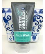 Tea Tree & Witch Hazel CHARCOAL Daily Detox Face Facial Wash, 5 oz - $17.81