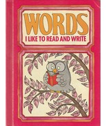 Words I Like to Read and Write 1978 Vintage Picture Dictionary for Early... - $7.91