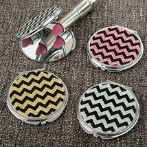 72 Glitter Chevron Compact Mirror From Gifts By Fashioncraft - $161.99