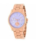 Michael Kors MK6163 Runway Rose Gold Lavender Wrist watch for Women - $100.98