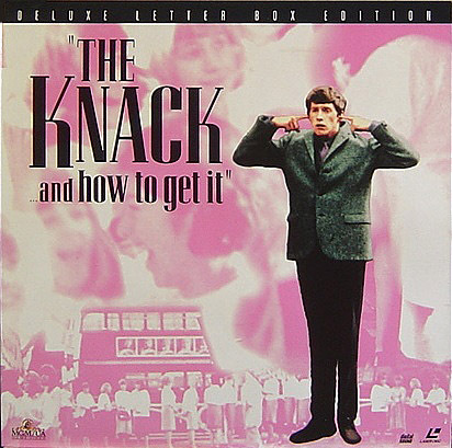 Richard Lester's 'The Knack ... and How To Get It' on Like-New Laser Disc