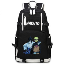 Naruto Theme Fighting Anime Series Backpack Schoolbag Daypack Naruto Sasuke - $36.99