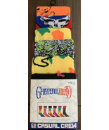 Grateful Dead 6 Pack Crew Socks Sz 8-12 Age 14+ Rainbow Tie Dye Bears Sk... - $29.70