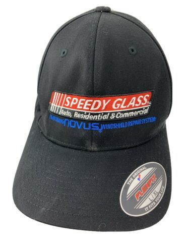 Primary image for Speedy Glass Auto Residential Commercial Fitted L/XL Adult Baseball Ball Cap Hat