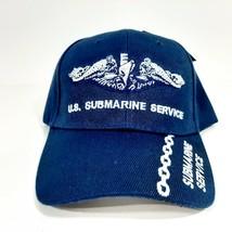 U.S. Navy Submarine Service SVC Cap Dark Blue Embroidered Hat - $10.88