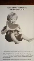 Sandra Bilotto Jeffrey Doll 1992 Danbury Johnny Doll Eating Watermelon - $8.00