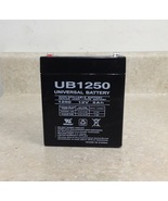 UB1250 Universal Sealed Lead Acid Battery, 12 Volts, 5 Ah - $12.00