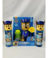 Nickelodeon Paw Patrol Action Bubble Blower Chase lot with extra bubbles... - $29.70