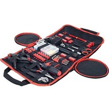 Household Hand Tools, 86 Piece Tool Set With Roll-Up Bag by Stalwart,...  - $48.58