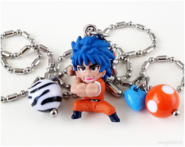 Toriko Anime Figure Necklace, Stainless Steel Chain, Japan - $22.00