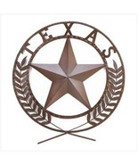 Gifts & Decor Texas Lone Star State Hanging Western Theme Wall Plaque - $27.99