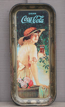 Old Vintage Reproduction 1916 World War 1 Girl Elaine Coca-Cola Coke Tra... - $24.74