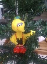 Sesame Street Big Bird Christmas Ornament Tourist - $12.88