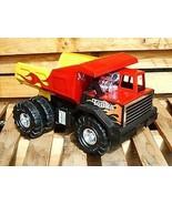 Tonka Mighty Blaze Hot Rod Dump Truck Pressed Metal Toys R Us Exclusive EUC - $129.99