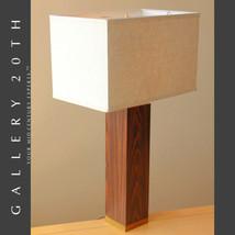 SUPERB! MID CENTURY MODERN PAUL EVANS LAUREL ROSEWOOD LAMP! BRASS VTG 60... - $1,700.00
