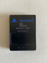 Official Sony PlayStation 2 PS2 8 MB Black Memory Card - Genuine OEM  - $9.87