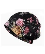 Glamorstar Floral Lace Beanie Hat Chemo Cap Stretch Slouchy Turban Headw... - $9.75