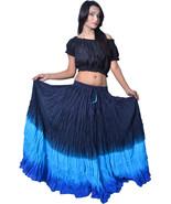 12 Yard ATS Jaipur Kuchi Tribal Belly Dance Cotton Skirt - $28.22
