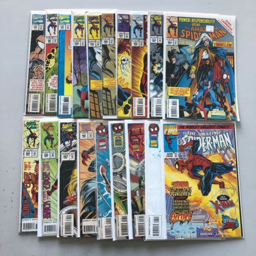 Lot of 19 Amazing Spider-Man (1963 1st Series) from #386-425 VF Very Fine