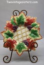 FITZ & FLOYD Autumn Splendor Small Plate Candle Holder - $11.99