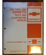 1953-1982 Corvette Parts and Illustration Catalog for sale on CD in PDF - $29.95