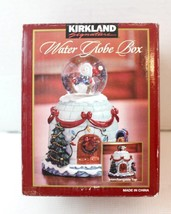 water globe box christmas decor changeable top ... - $25.00