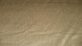 Soft Brown Nylon Chenille Upholstery Fabric 1  Yard  F700 - $19.95