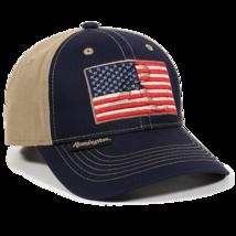 Outdoor Cap Unisex-Adult Remington US Flag, Navy/Khaki, Adult - $13.41