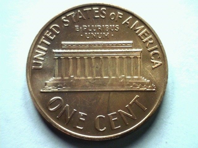 1971-S Lincoln Memorial Cent Penny Free Shipping! GEM BU Red US Coin