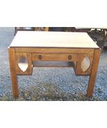 Solid Quartersawn Oak Mission Desk Library Table - $1,095.00