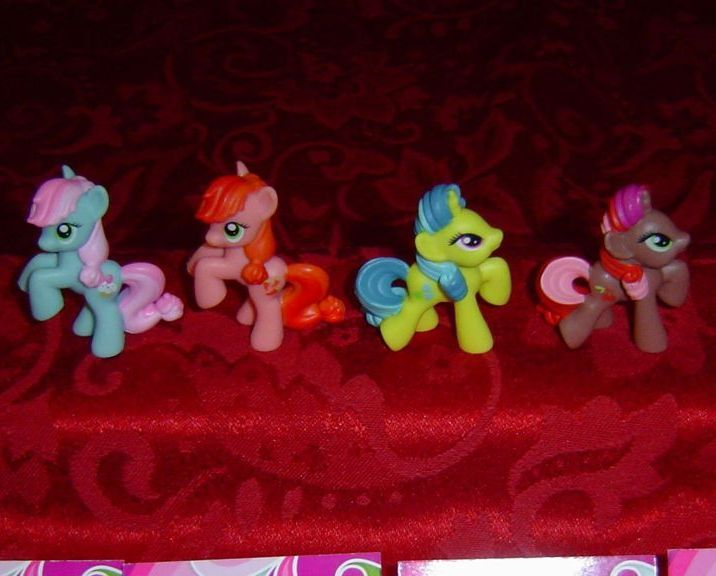 My Little Pony Blind Bags  #14-21  Kiosk Wave 1 G4 Ponies lot