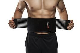 BraceUP Stabilizing Lumbar Lower Back Brace Support Belt Dual Adjustable... - $24.99