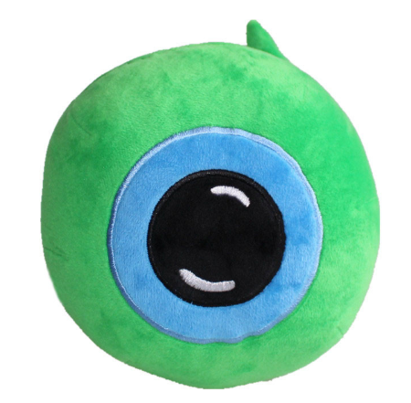 Hot Jacksepticeye Sam Plush Baby Toy Doll Septic-eye Green Eye Stuffed Toys 20cm