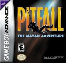 Pitfall: The Mayan Adventure (Nintendo Game Boy Advance, 2001) - $3.40