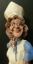 Nurse Female Frumps Resin Character-an original Frumps character 90's si... - $4.95