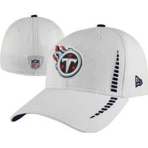 New Era 39THIRTY NFL Tennessee Titans Football Hat Cap Stretch Size L/XL - £14.46 GBP