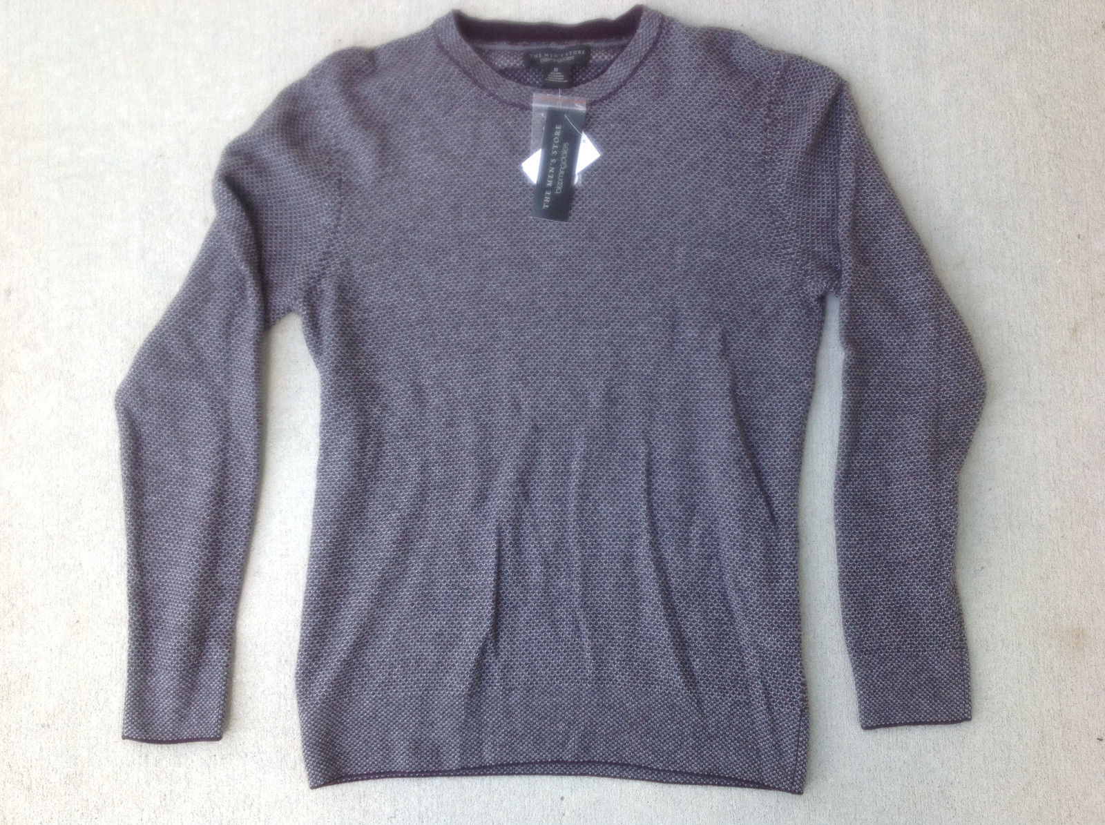 The Men's Store at Bloomingdale's Wool and Cashmere Blend Crewneck Sweater, XXL