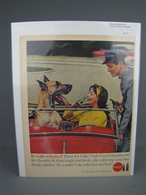 """Vintage 1960s Coca-Cola Full Page Advertisement """"For That Pause That Ref... - $3.76"""