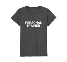 Personal Trainer Gym coach T-shirt Wowen - $19.95+