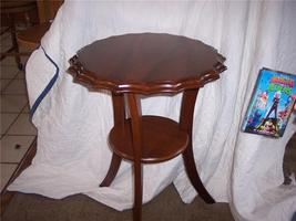 Solid Walnut Side Table or Lamp Table - $191.03