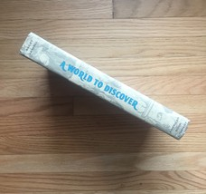 1963 A World to Discover textbook. By Matilda Bailey and Ullin Leavell image 2
